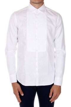 Popeline cotton ANTONIO Shirt With Details