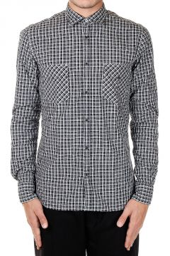 Popeline Cotton Checked Shirt