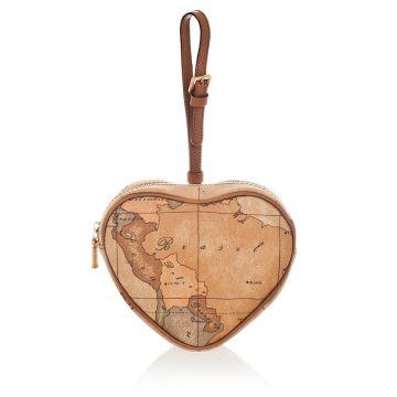 Heart Shaped Clutch Bag