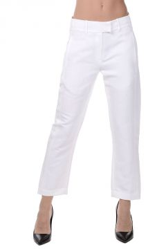 Pantalone Cropped KEATING in Misto Lino
