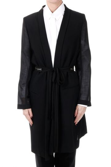 Virgin Wool Long blazer