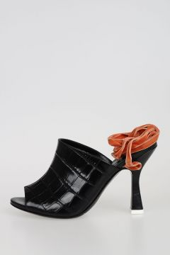 Printed Leather PAMELA Sandals