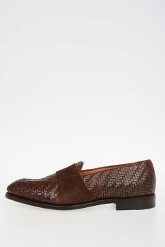 Braided Leather GUTTUSO Loafers