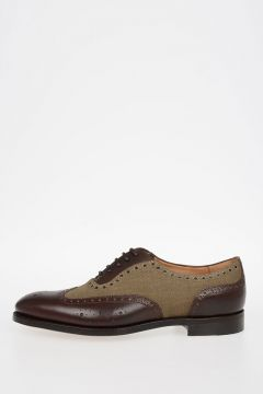 Brogue Leather & Fabric SPERELLI Oxford Shoes
