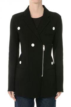 Zipped Wool blend Blazer