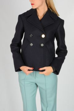 Virgin Wool blend Short Coat