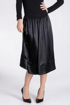 Flared Longuette Skirt