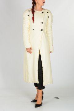Detachable Sleeve Padded Coat
