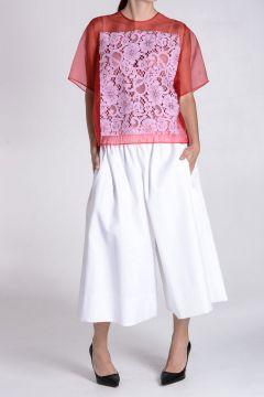 Pantalone Culotte In cotone