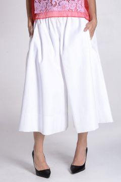 Cotton Culotte Pants