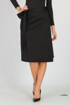 Virgin Wool Skirt