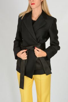 Wool Silk Blazer