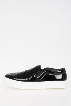 Patent Leather SKATE PERFORATED Sneakers