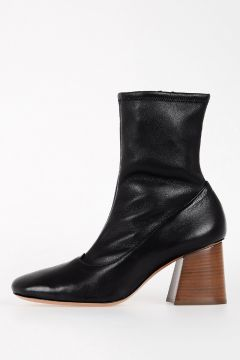 7cm Leather ankle Boots