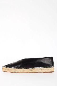 Leather Espadrilles Shoes