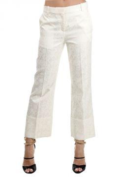 Pantaloni Capri con Fantasia