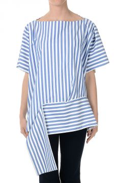 Asymmetric Cut Cotton Top