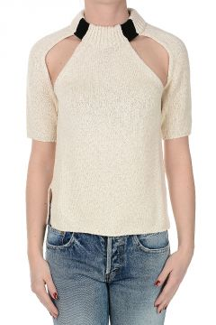 Cotton and Silk Sweater