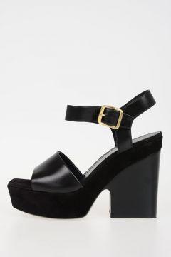 Sandalo WEDGE SANDAL in Pelle 13cm