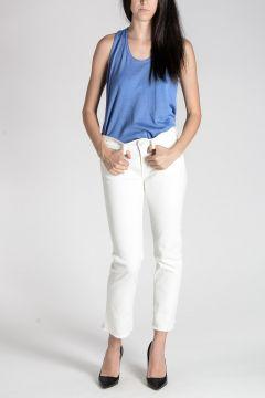 Jeans Cropped Sfrangiato 18 cm