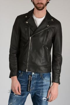 Leather Chiodo Jacket