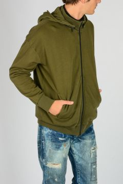 Hooded 2 ZIP CAMO Sweatshirt