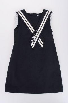 Stretch Cotton Sailor Dress