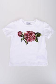 Sequinned Jersey T-shirt