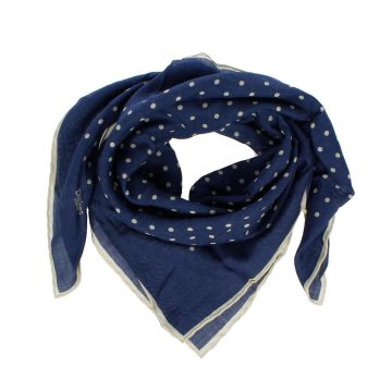 Pois Printed Silk Wool Scarf