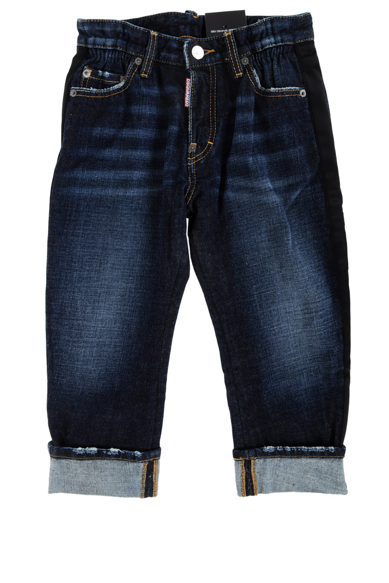 dsquared2 kids boy jeans big dean brother spence outlet. Black Bedroom Furniture Sets. Home Design Ideas