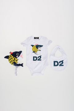 Stretch Cotton SHARK Baby Kit Apparel