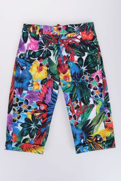 Stretch Cotton FIORI Pants