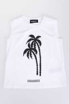 Cotton Jersey PALMS Tank Top