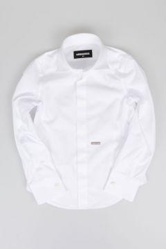 Camicia Classica in Popeline di Cotone