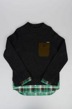 Pullover in Misto lana e Cashmere