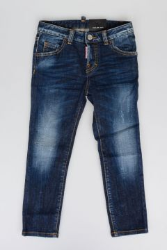 Jeans COOL GIRL in Cotone Denim Stretch 11 cm