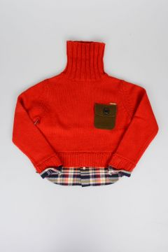 Turtleneck Virgin Wool Sweater