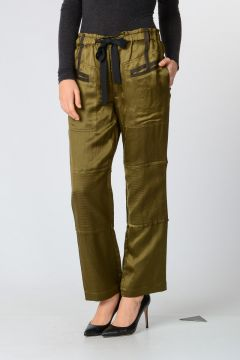 Cotton Linen Blend Pants