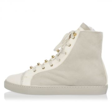 Sneakers SOFT In Pelle e Borchie