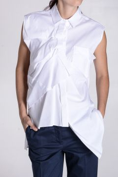 Asymmetric Cut Blouse