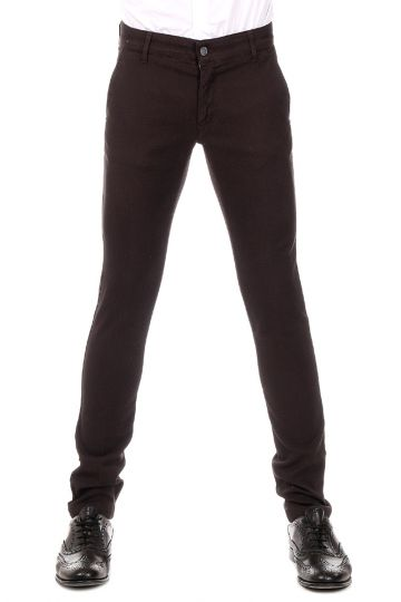Cotton stretch AMERICA Pants with FRISI