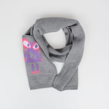 Wool BAG BUGS Scarf
