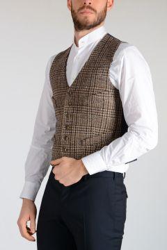 Wool & Denim Vest