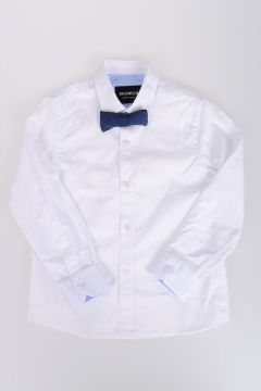 Popeline Cotton Shirt with Papillons
