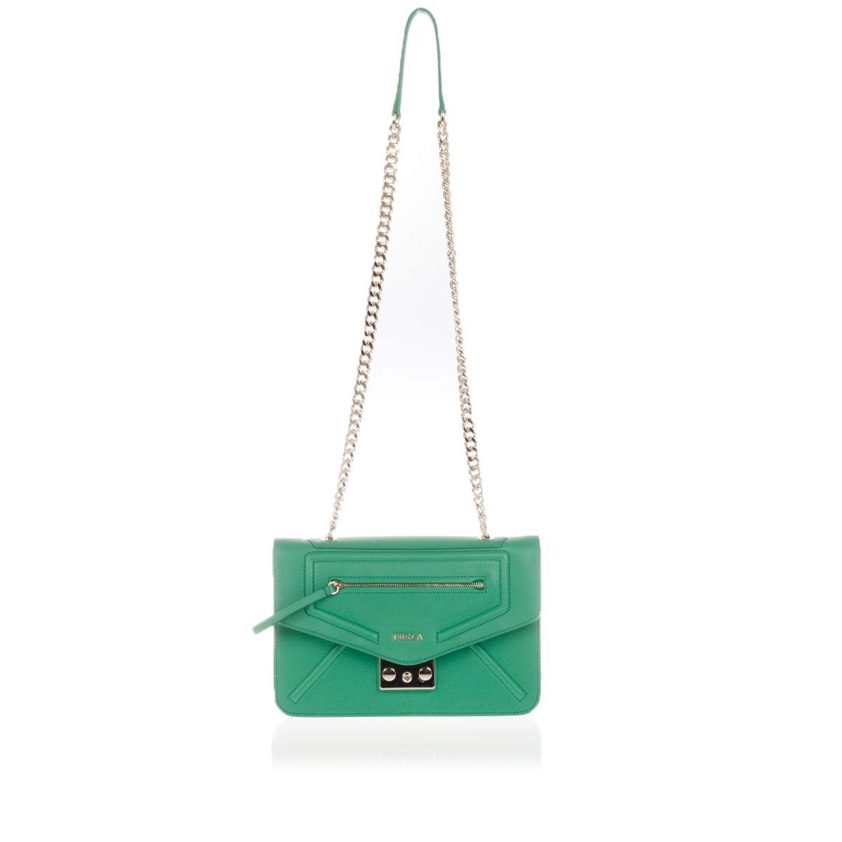 e3f3b1f4ff2 Furla Women ALICE Leather Pochette bag - Glamood Outlet
