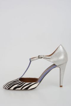 8cm Pony Skin GABRY Sandals