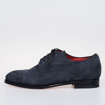 Suede Leather GO RAIN TEMPESTA Derby Shoes
