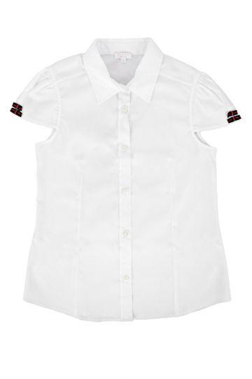 Camicia in misto Cotone senza Maniche