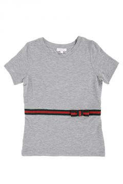 T-shirt In Cotone Stretch