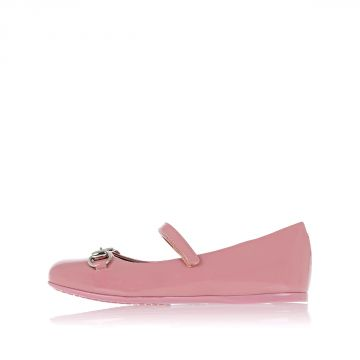 Leather Ballet Flat With Details